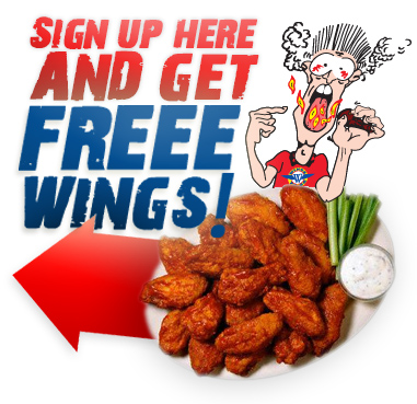 Sign up and get free wings!